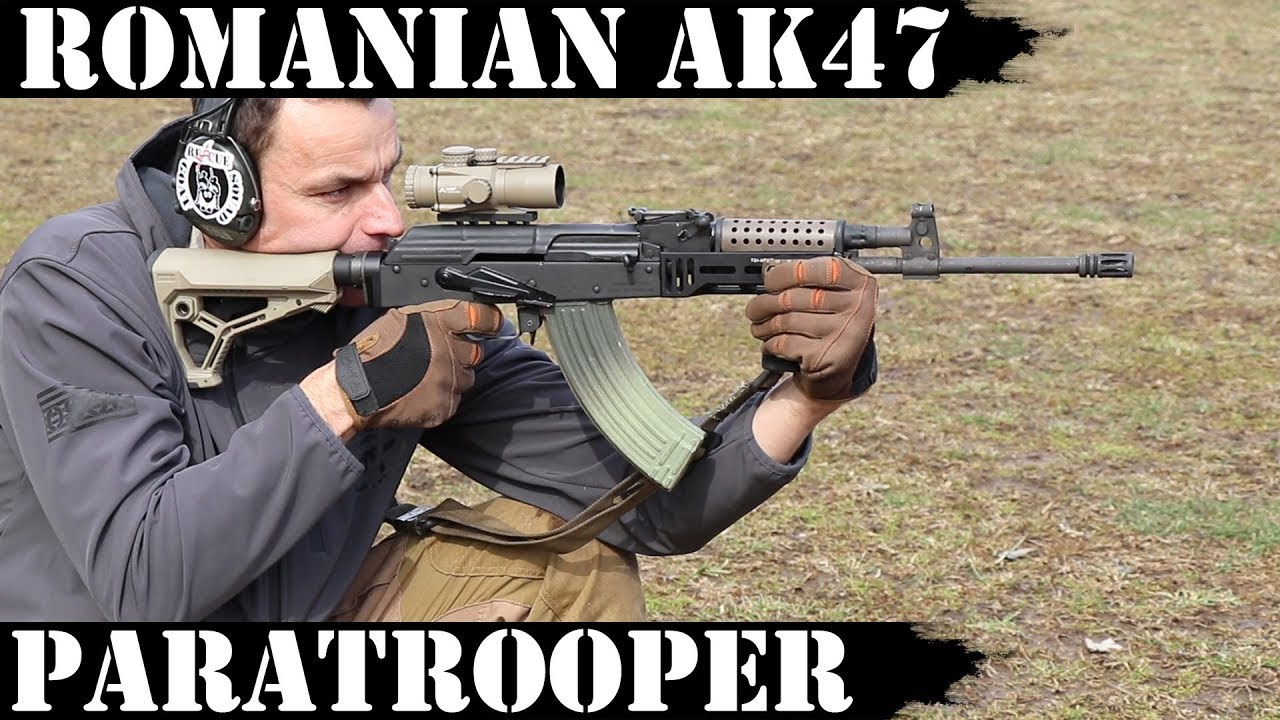 Romanian Paratrooper AK47 - 540 Rounds Later!