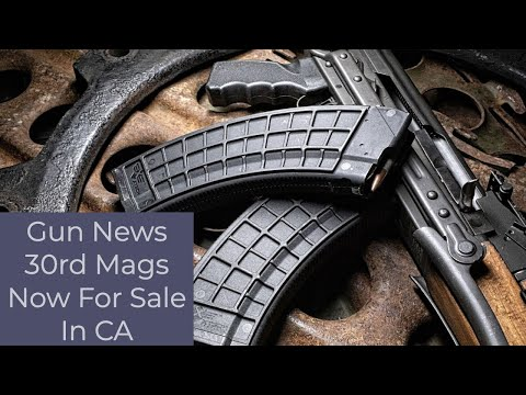 Gun News for March 31 -California 10+ Magazine ruling