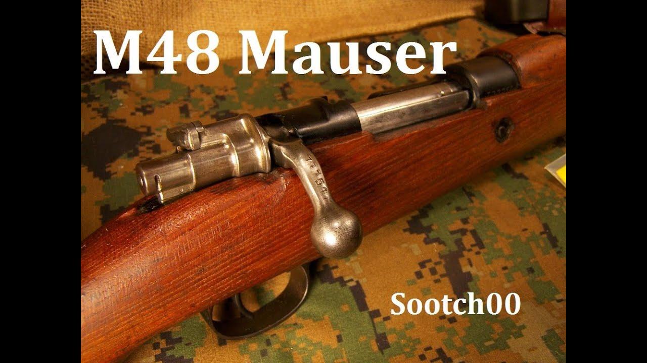 M48 8mm Mauser Rifle