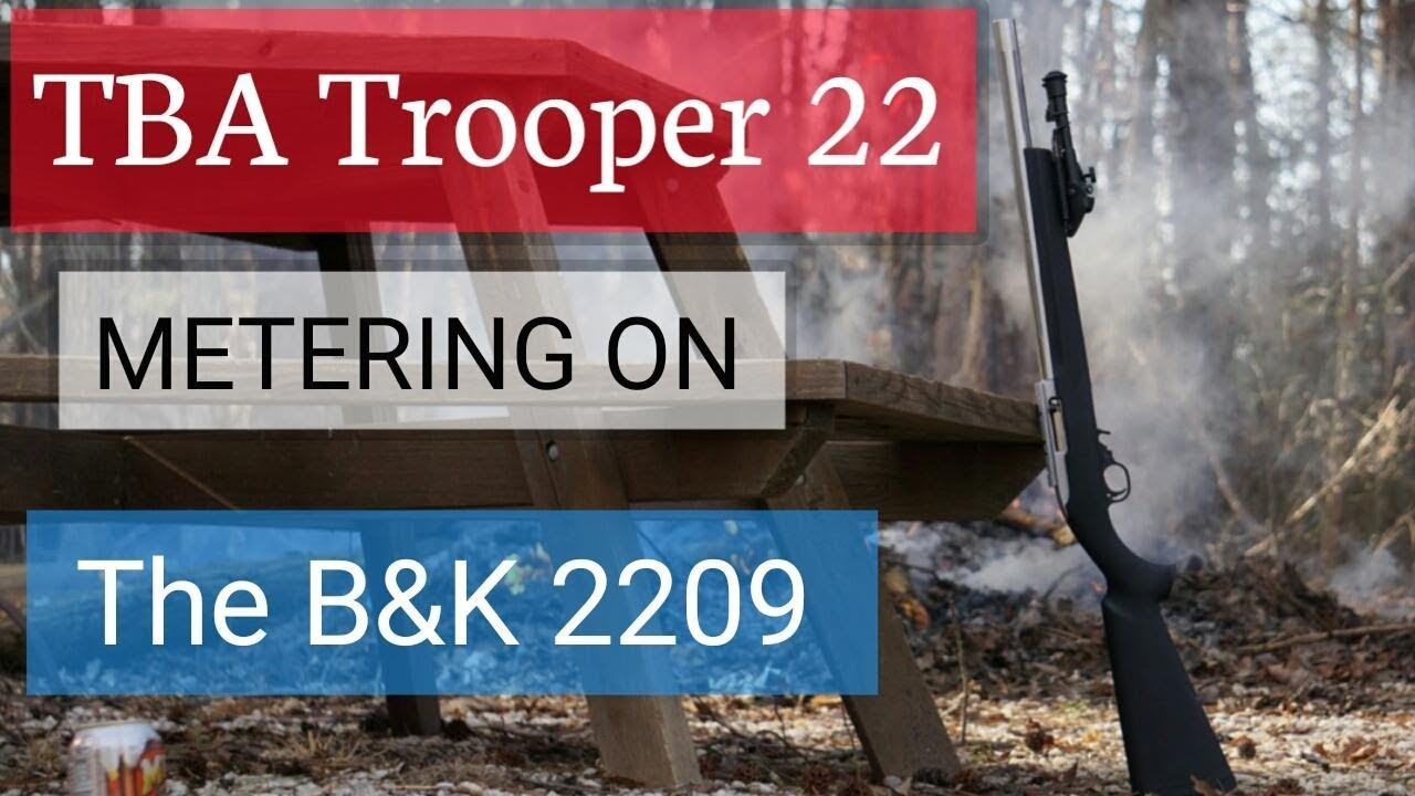 TBA Suppressors Trooper 22 metered
