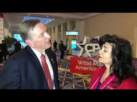 CPAC 2019 GFR Interview with Congressman Paul Gosar