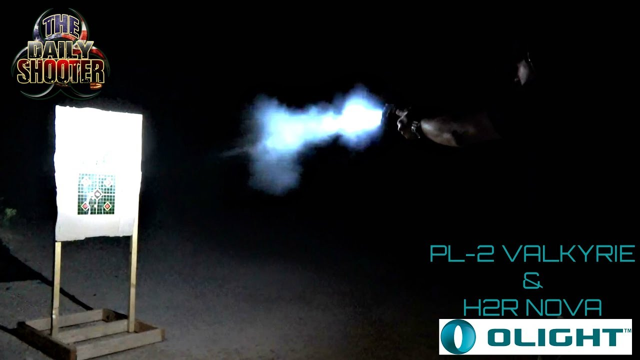 OLIGHT PL-2 Weapons Light & H2R Nova Review and Test