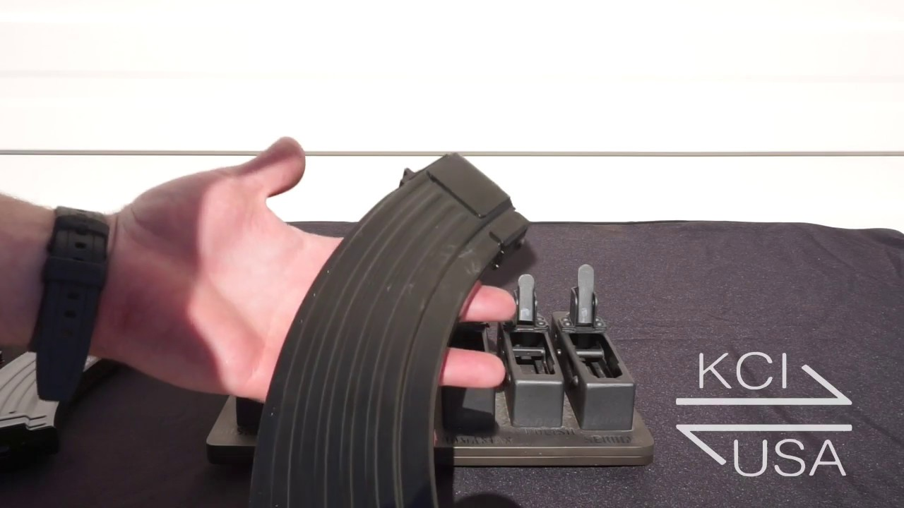 KCI USA AK-47 Receiver Fitting Jig Demo