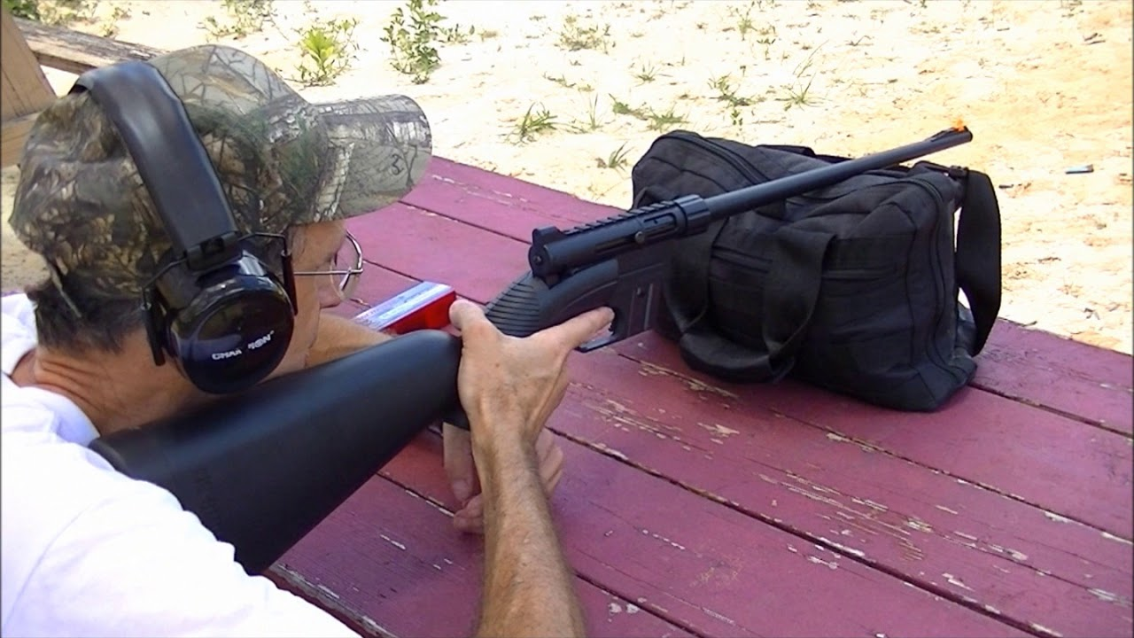 Rimfire Rifle Shooting with Winchester 190 and Henry AR7 Survival Rifle