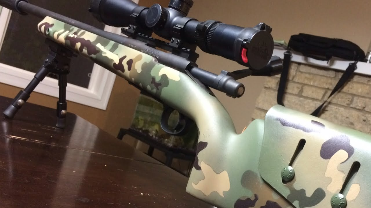 Multicam Rifle Paint Job - How to