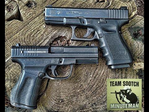 Glock 19 & FMK 9C1 G2 9mm Pistol Comparison