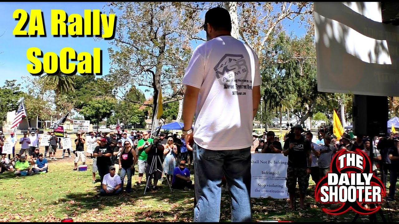 California 2A Rally - My Speech
