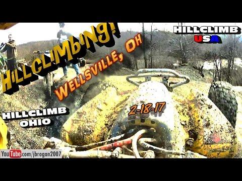 [HILLCLIMB OHIO]2-18-17 Hillclimbing/Riding at Wellsville, Oh