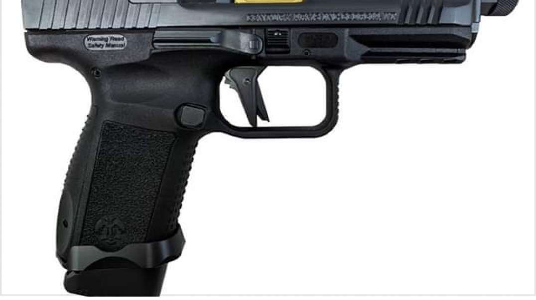 Canik Tp9sf ; reduces guide rod malfunctions