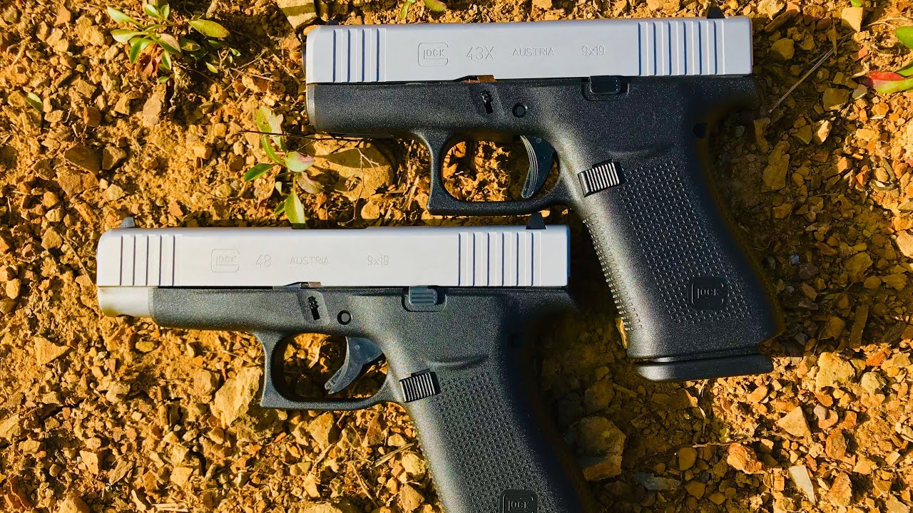 Glock 43X and 48: Everything You Need To Know