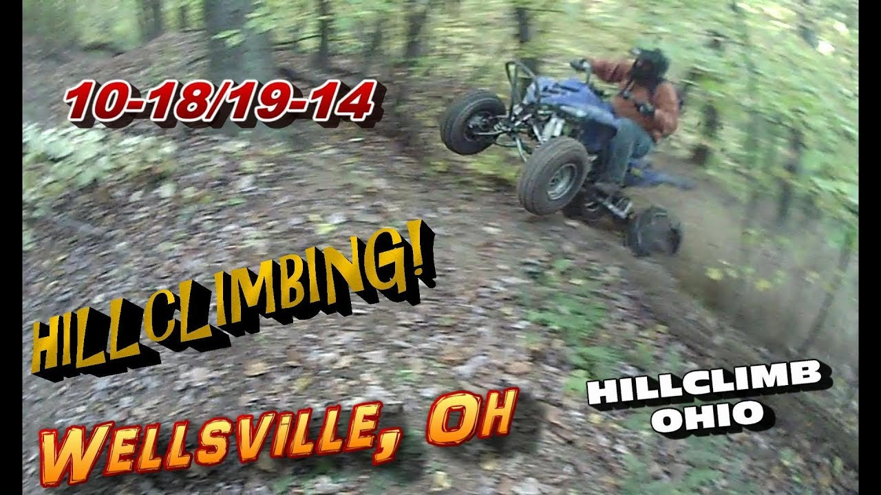[HILLCLIMB OHIO]10-18/19-14 Hillclimbing/Riding at Wellsville, Oh