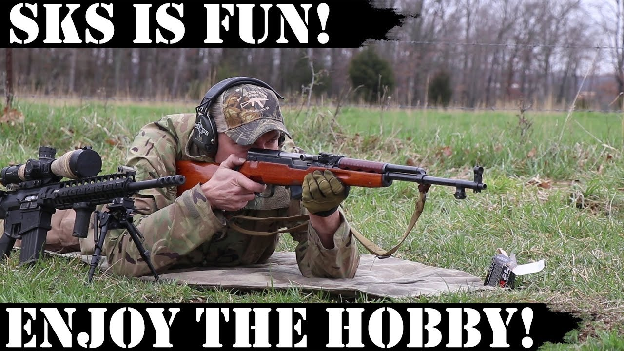 SKS is Fun! Enjoy the hobby!