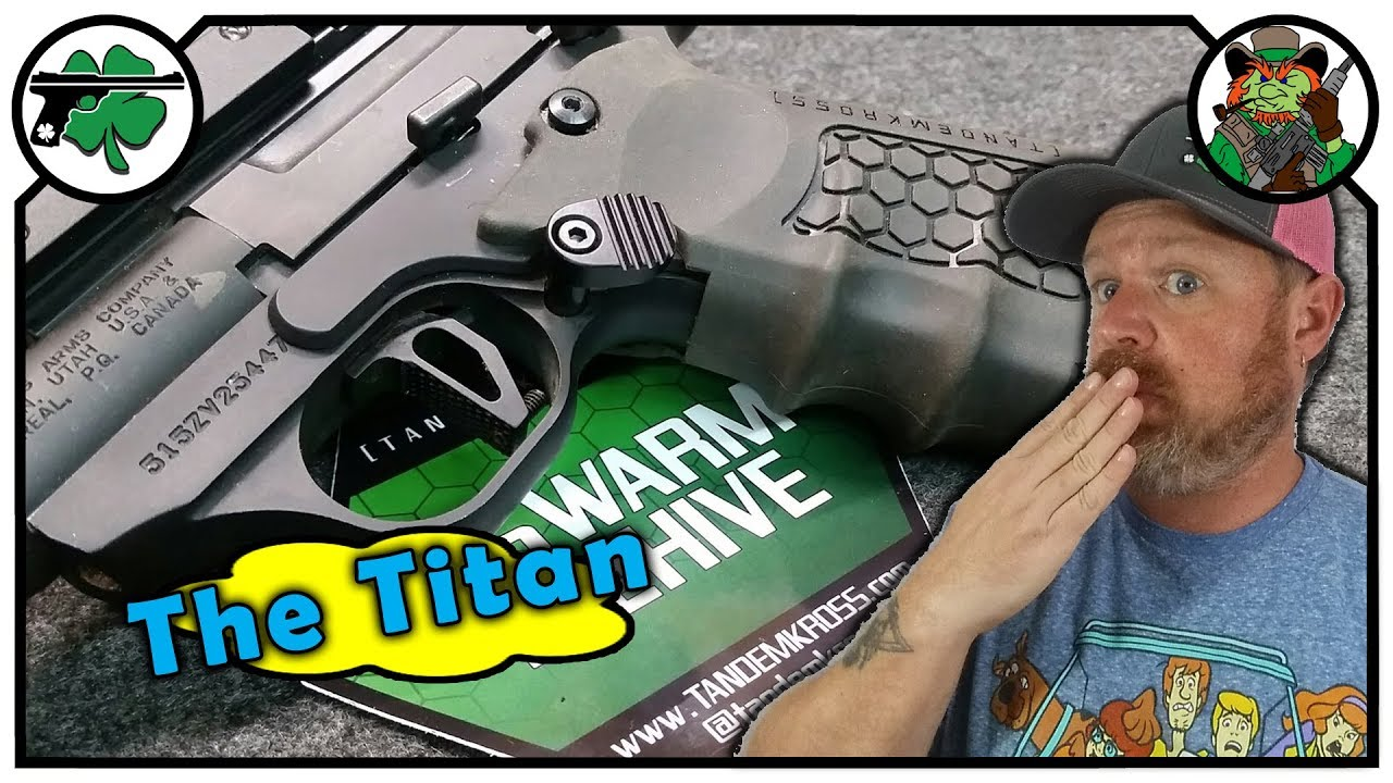 Tandemkross Titan Mag Release For Browning Buckmarks
