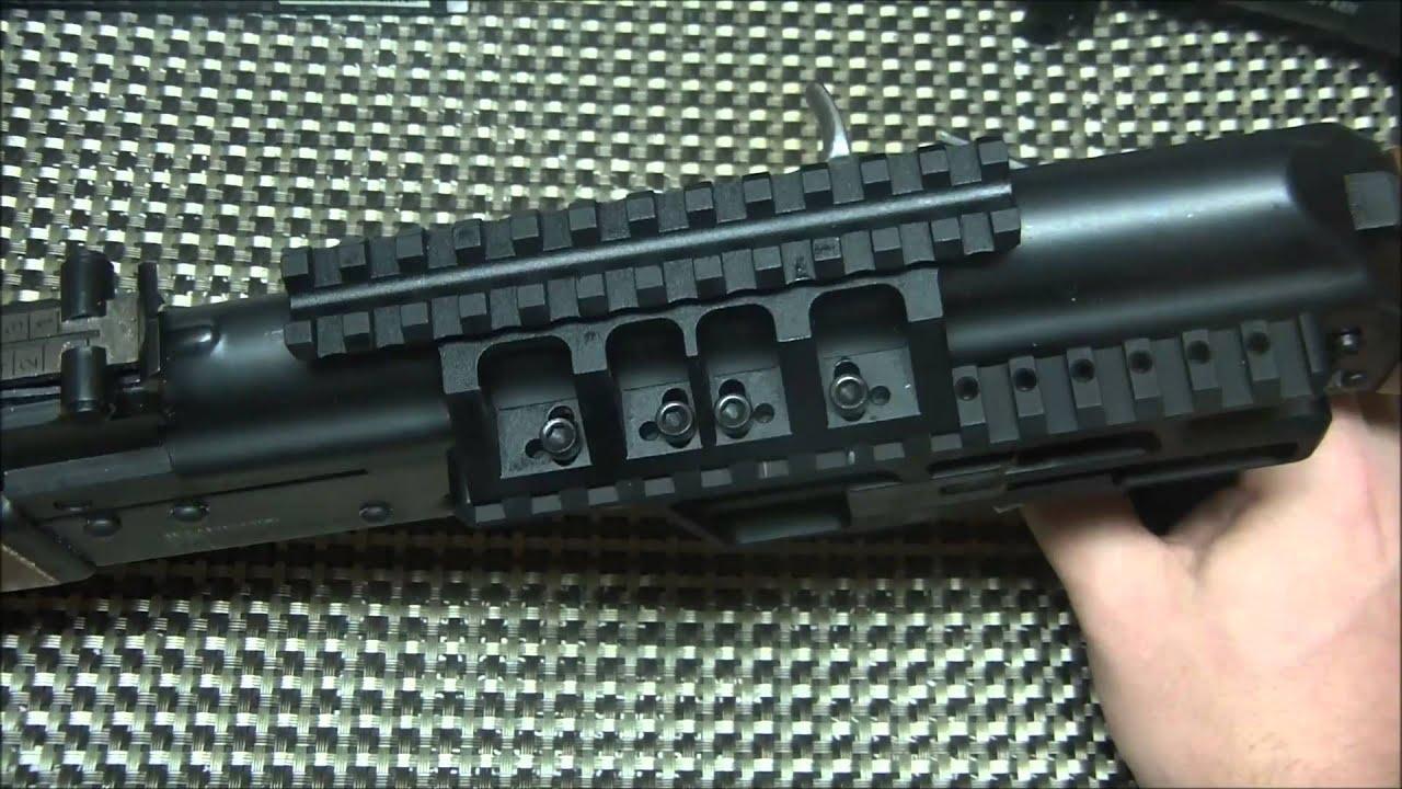 RS Regulate AK- 307 Scope Mount for Yugo Pattern AK Rifles