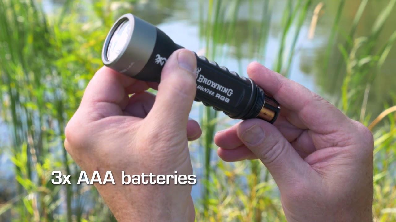 Pro Hunter RGB Flashlight