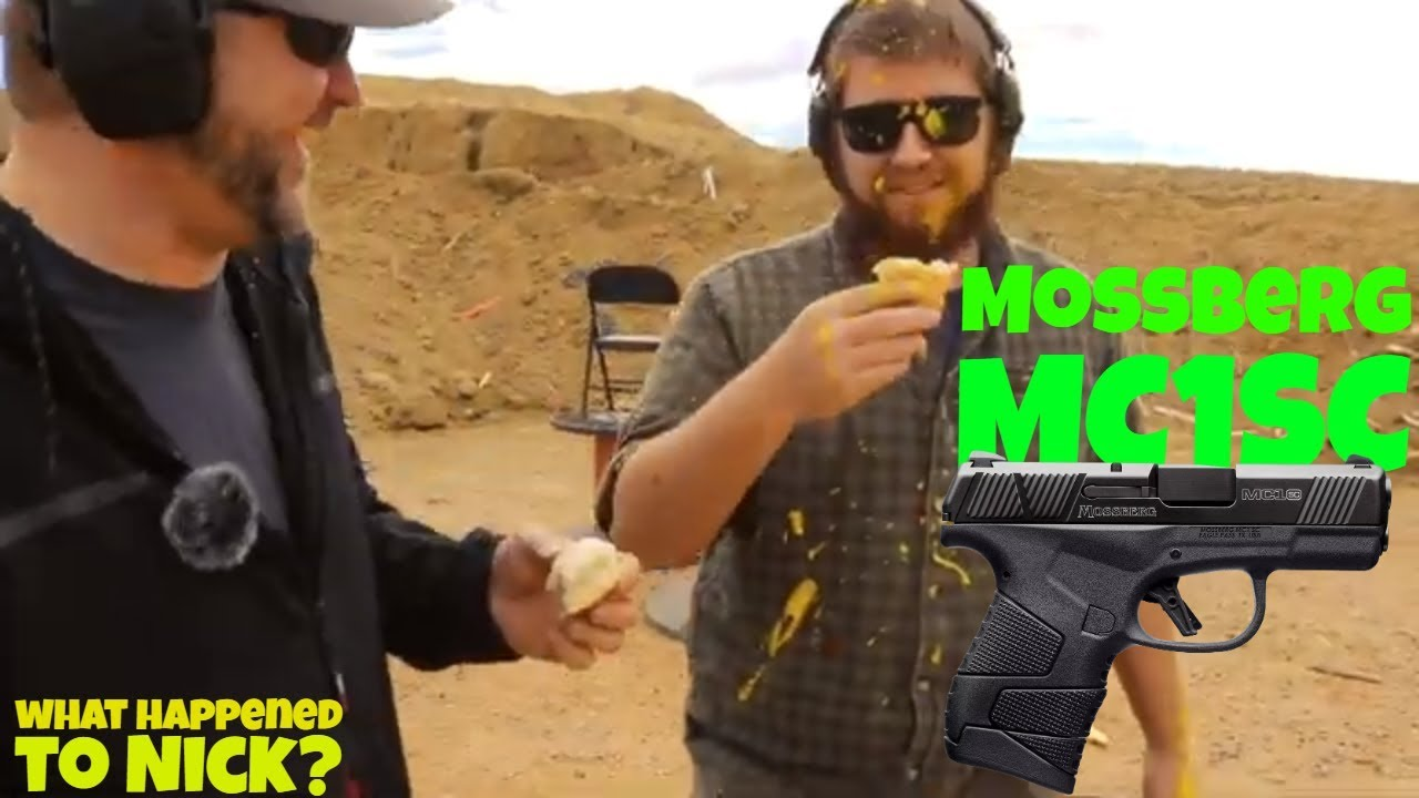 Mossberg MC1SC loves mustard - First 100 review!