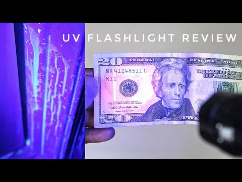 UV Flashlight Uses and Review