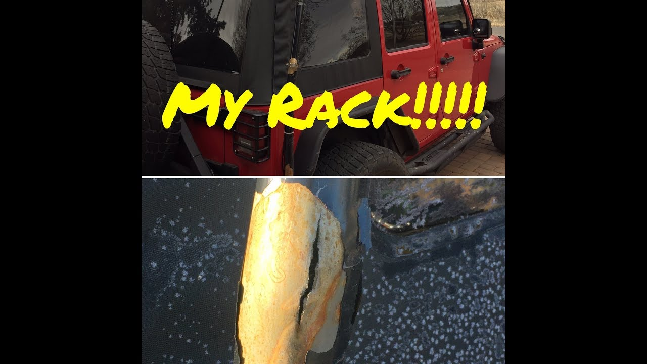 🔴LittlewierdJeep, What the He🏒🏒 happened to my rack⁉️ FAIL 🤨
