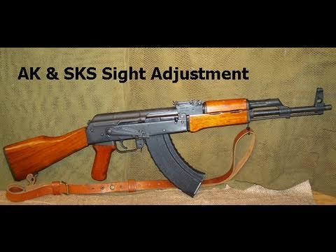 How to Adjust AK / SKS Iron Sights