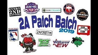 #2APatchBatch2019:  Awesome Giveaway Special Announcement!  FREE PATCHES