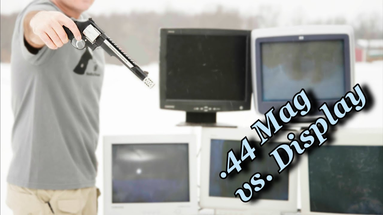 Smith & Wesson .44 Magnum Hunter VS Computer Screens