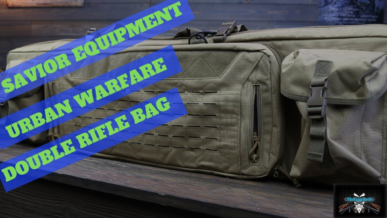 Savior Equipment Urban Warfare Double Rifle Bag Review