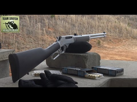 Rode Hard, Put Up Wet: Henry's All Weather 45-70 & 30-30 Rifles
