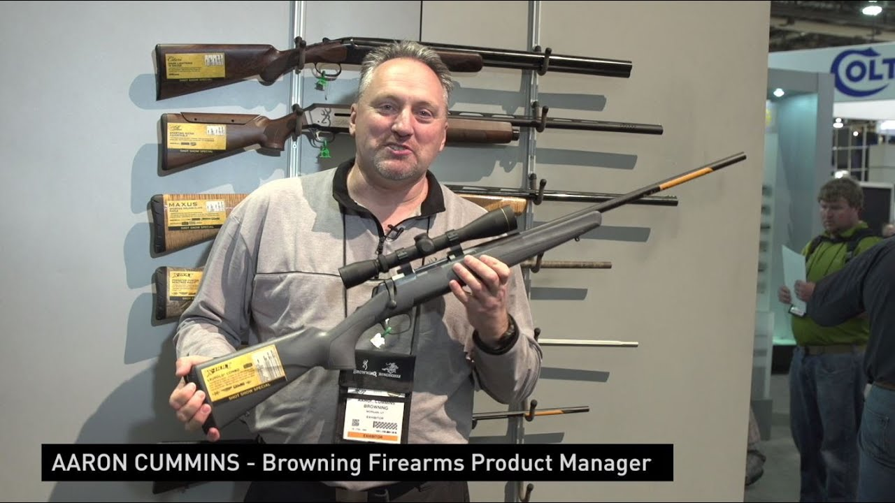 2016 SHOT Show Browning Cynergy CX-Aaron Cummins