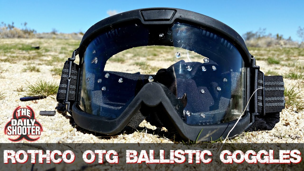Rothco OTG Ballistic Goggles Vs. 12 Gauge Testing and Review