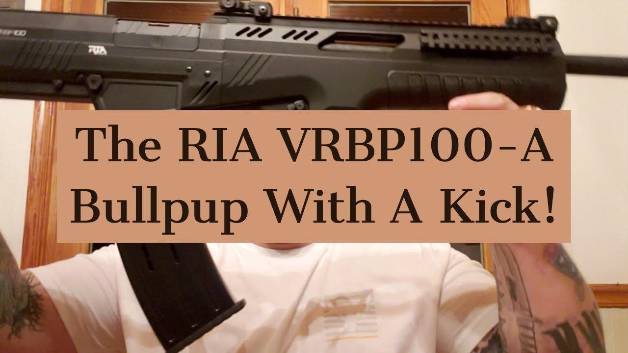 Nick Takes The RIA VRBP100-A Shotgun For A Spin