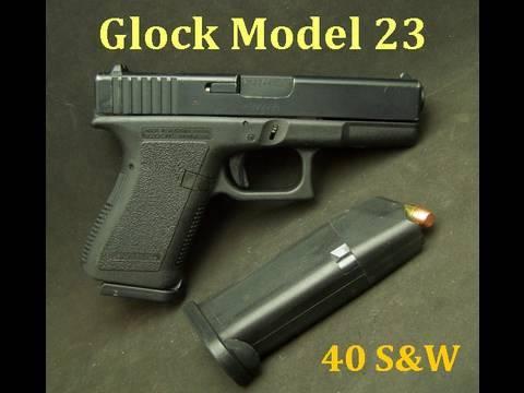 Glock Model 23  Compact 40 S&W