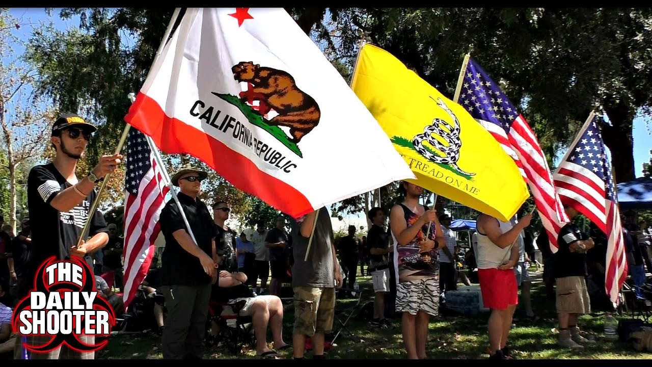 2A Rally California Patriots and Speeches Unity Against Gun Control