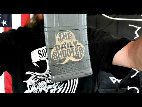 Magpul Pmags Laser engraved from High Desert Sporting Arms