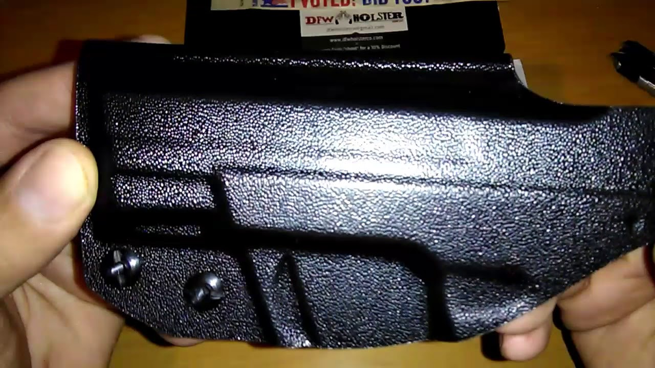 Concealed Carrier IWB holster for the Smith & Wesson M&P Shield 9mm