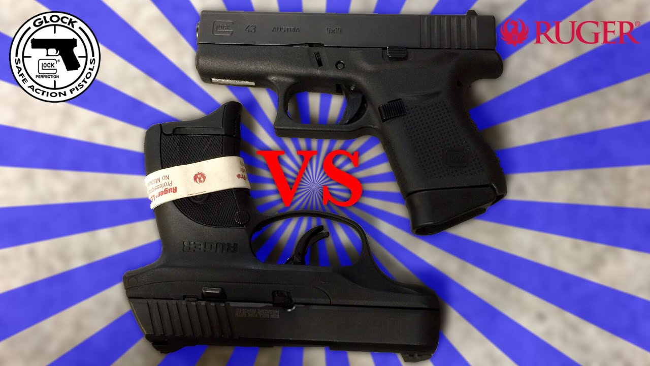 Glock 43 vs Ruger LC9s PRO
