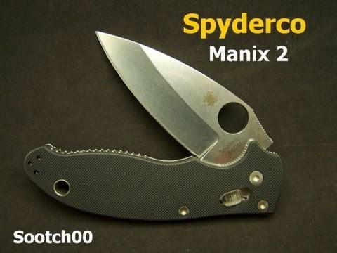 Spyderco Manix 2