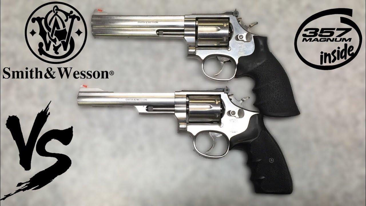 686-4 VS 66-4 Revolver