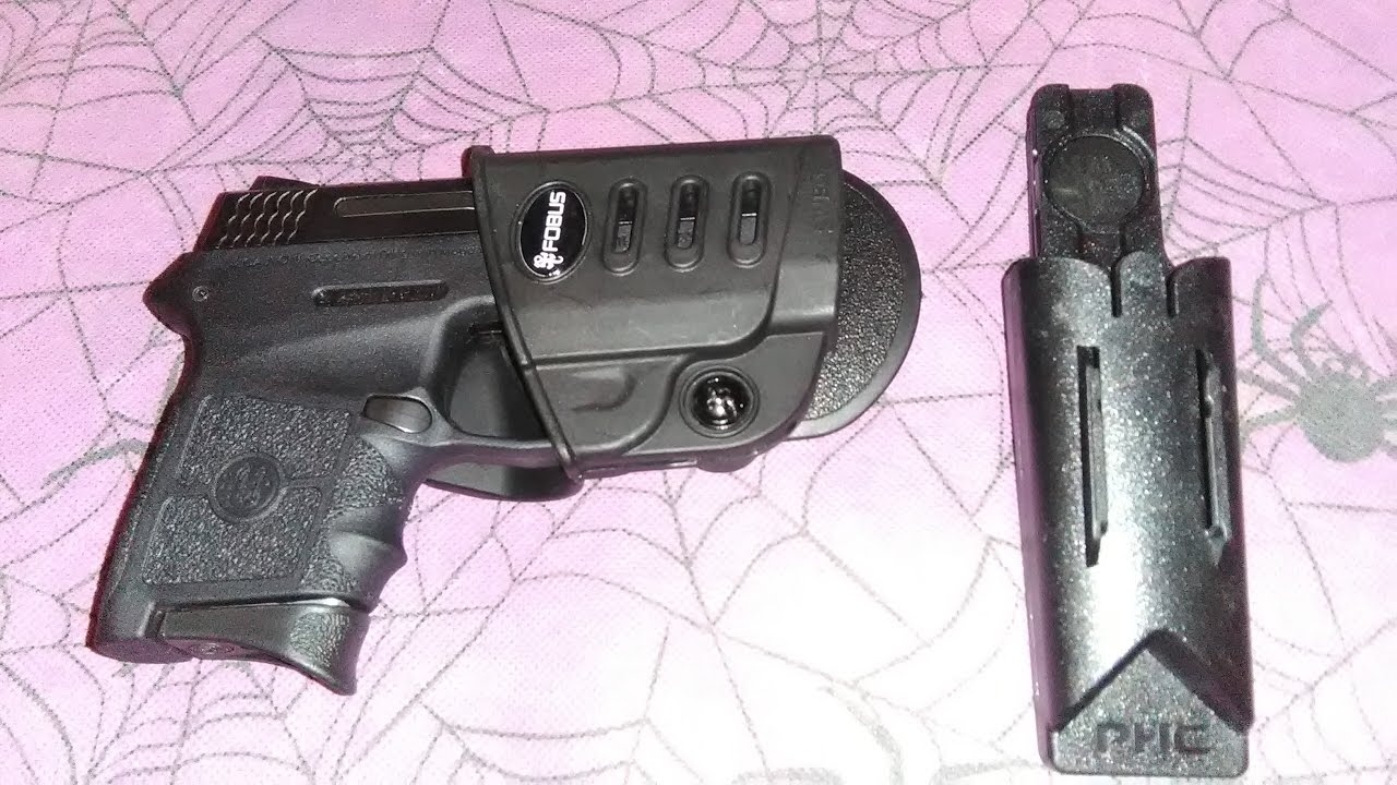 Fobus paddle holster for the Smith & Wesson M&P Bodyguard .380