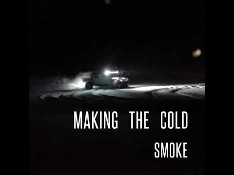 Midnight Drift Busting the Montana Cold Smoke - M998/M1038 HMMWV - Manhattan Mt ice redneck off-road