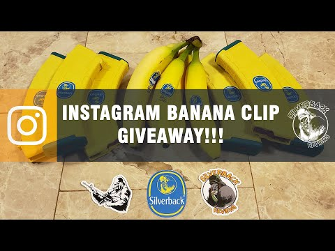 Banana Mag Giveaway on Instagram