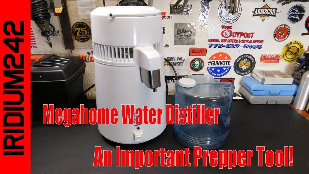 TableTop Water Distiller: An Important Prepping Tool!