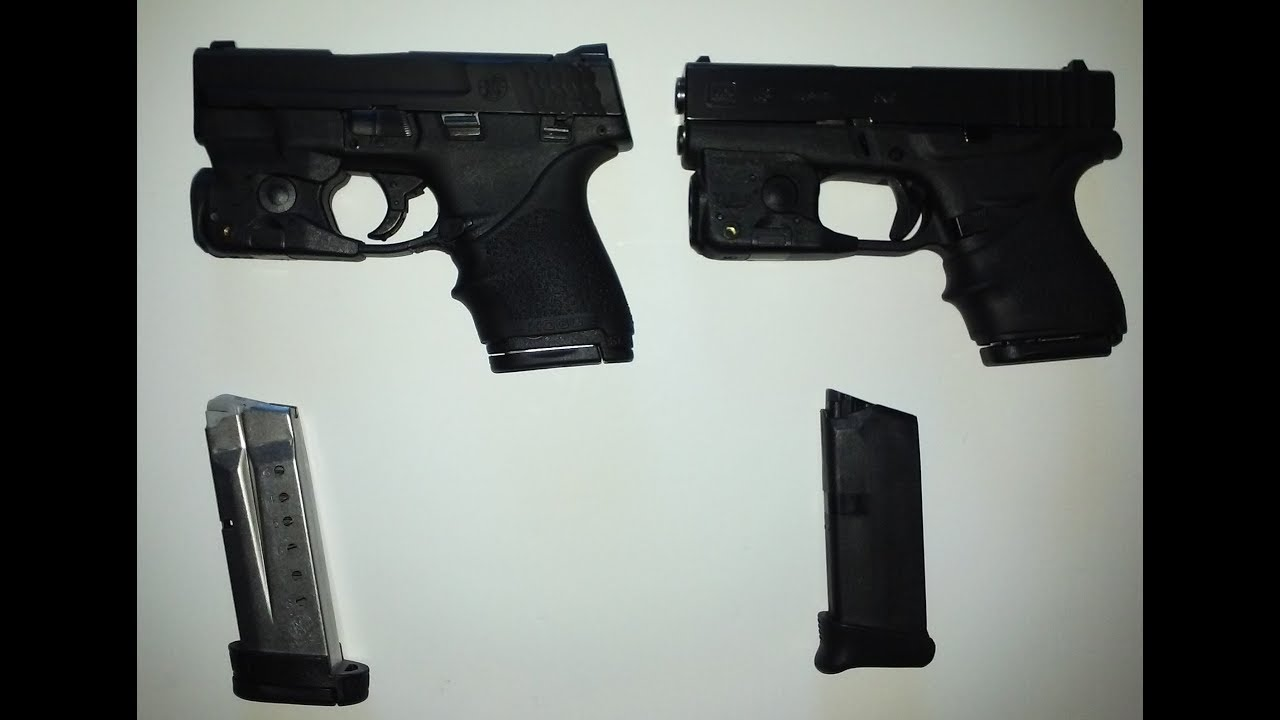 Glock 43 Vs M&P Shield