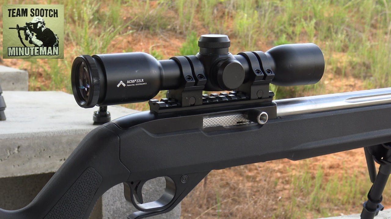 Primary Arms 22LR ACSS Reticle 6x Scope Review