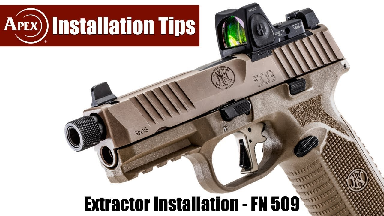 How To Install The Apex Extractor In An FN 509