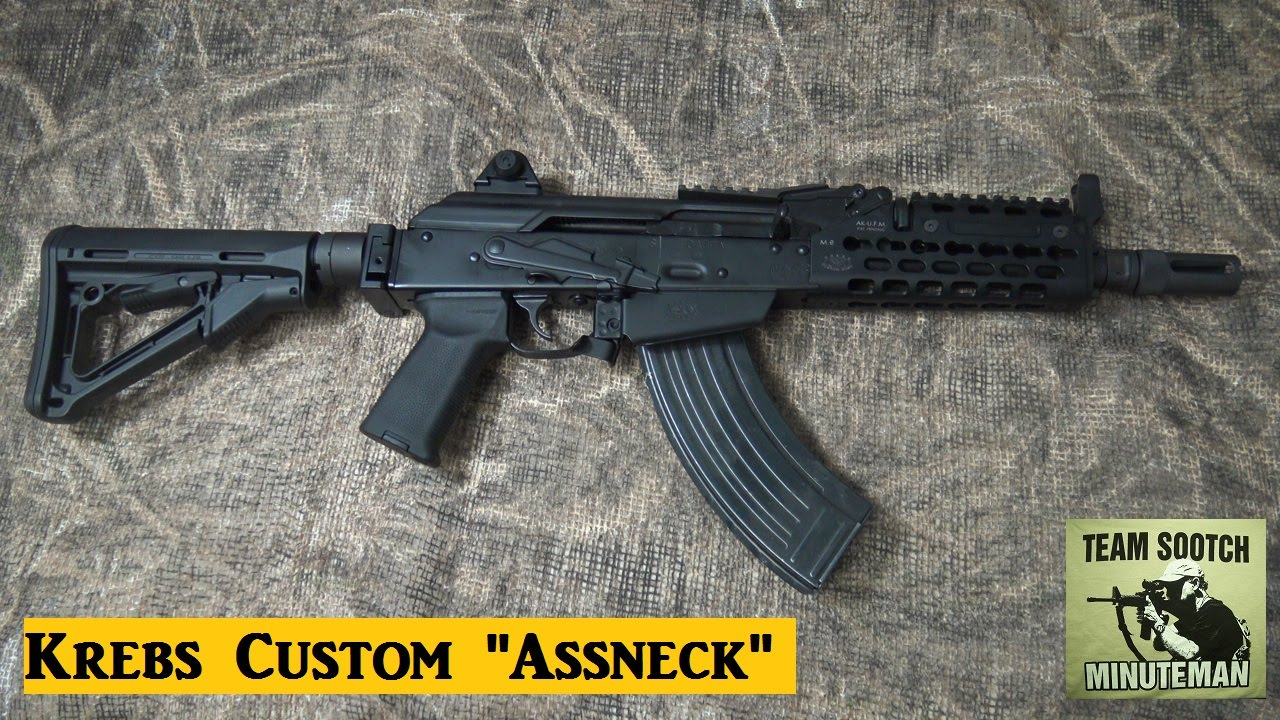 New Krebs Custom Assneck SBR AK 47