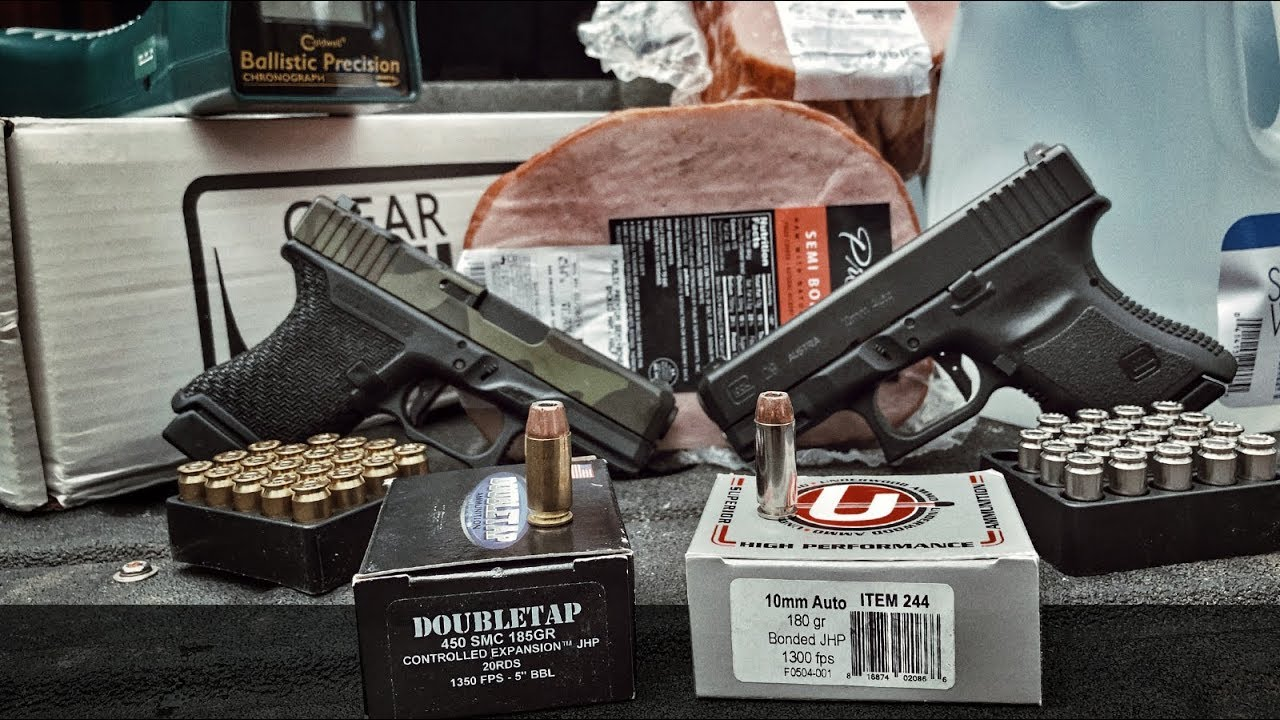 10mm Killer? Head-to-head with 450 SMC