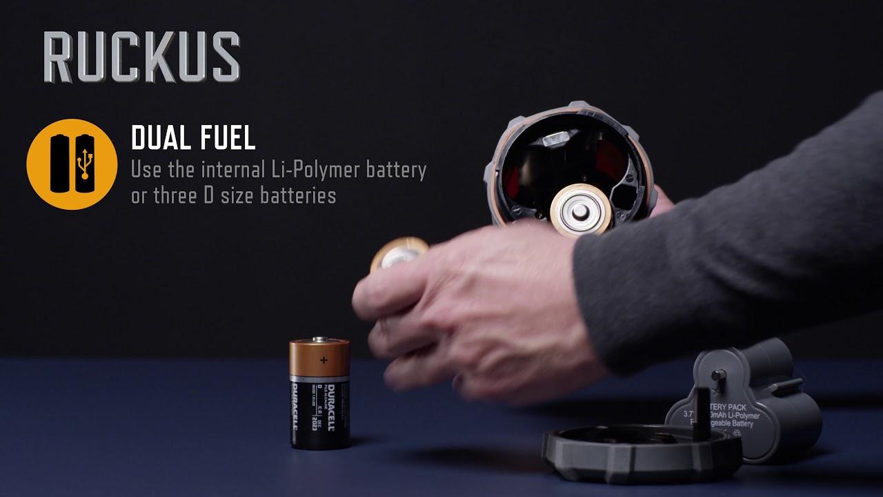 Ruckus USB Rechargeable Lantern