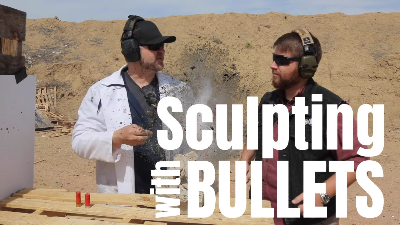 Sculpting w/ Bullets - Unexpected results! 450 Bushmaster