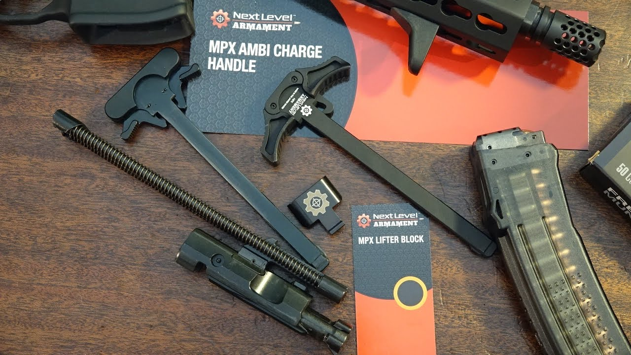 SIG Sauer MPX Next Level Armament Ambi Charge/Block Kit Review