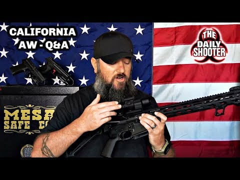 California AW Laws Q&A What's Legal & Whats Not